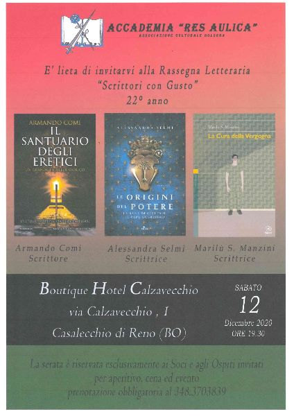 "ACCADEMIA ""RES AULICA"" - 12/12/2020"